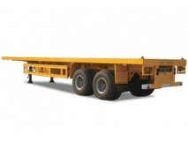 TWO AXLE FLATBED SEMI TRAILER